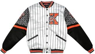 Dolce & Gabbana Kids Embroidered bomber jacket
