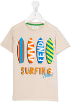 Fendi surfing print T-shirt