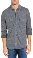 Faherty Men's Belmar Dual Knit Sport Shirt