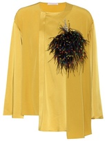 Christopher Kane Charm-embellished blouse