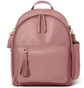 Skip Hop Greenwich Simply Chic Diaper Backpack, Dusty Rose