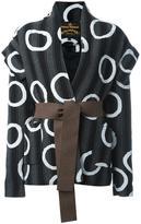 Vivienne Westwood striped belted jacket