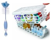 Prince Lionheart Infant Dishwasher Basket with Bottle Brush