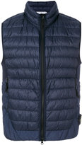 Stone Island padded gilet - men - Polyamide/Polyurethane Resin/Feather - M