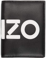 Kenzo Black Logo Card Holder