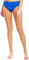 Stella McCartney Draped High-Waist Bikini Bottom