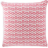 "Roberta Roller Rabbit Big Cata Pillow, 26""Sq."