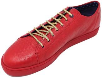 Lords Of Harlech Trevor Sneaker In Red
