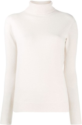 D-Exterior Turtleneck Fine Knit Jumper