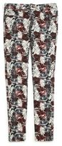 7 For All Mankind Girl's Floral-Print Jeans