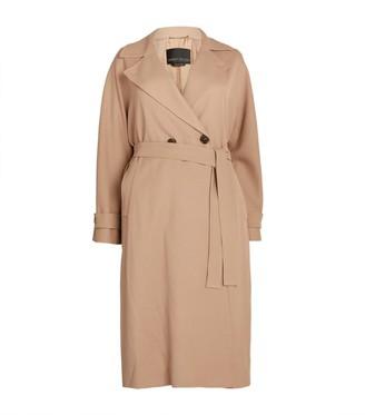 Marina Rinaldi Belted Raincoat