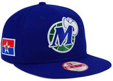 New Era Dallas Mavericks Flag Stated 9FIFTY Snapback Cap