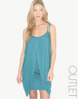 Zoe Tee's Draped Tie Shoulder Dress