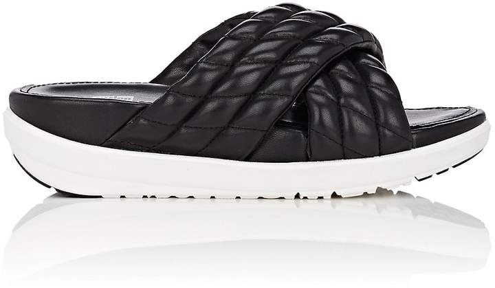 FitFlop LIMITED EDITION Women's Quilted Leather Slide Sandals