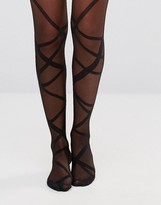 Gipsy Ribbon Wrap Tights