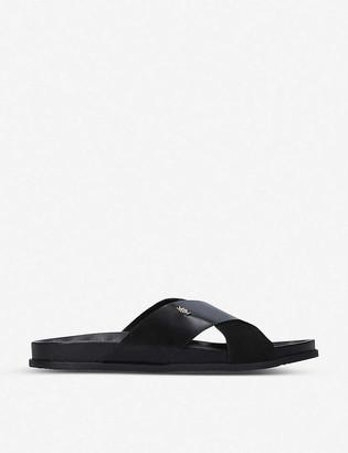 Kurt Geiger Logan leather sandals