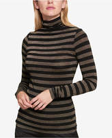 Tommy Hilfiger Metallic-Striped Sweater, Created for Macy's