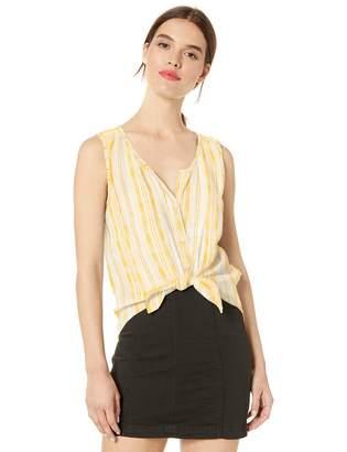 Lucky Brand Women's Striped Sleeveless Shirt
