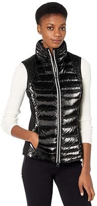 Blanc Noir Breakthrough Vest (Black) Women's Clothing