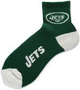 For Bare Feet New York Jets Ankle TC 501 Medium Socks