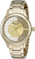 Kenneth Cole New York Women's 10026010 Transparency Analog Display Japanese Quartz Watch
