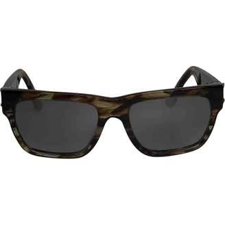 Chrome Hearts Brown Plastic Sunglasses
