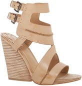 Max Studio Erin - Seamed Leather Wedges