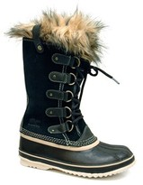 "Sorel Joan of Arctic"" Black Snow Boots"