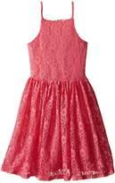 Ella Moss Bria Sleeveless Lace Dress (Big Kids)