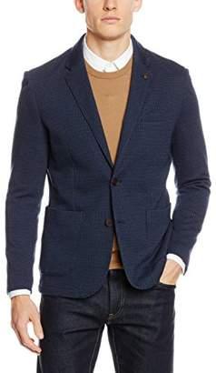 Selected Men's SHDONEALLEN Blazer STS Suit Jacket, Navy Blue, 19