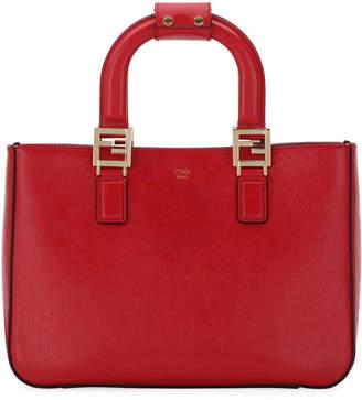 Fendi Glacier Small Shopping Tote Bag