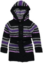"Pink Angel Little Girls' Toddler ""Delores"" Hooded Cardigan"