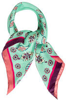 Cacharel Silk Printed Scarf