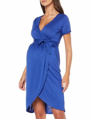 Mama Licious Mamalicious Women's Mlura Tess S/s Jersey Abk Dress Nf
