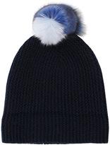 Autumn Cashmere Fur Pom Pom Hat