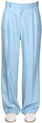 Casablanca Pleated Wool Classic Pants