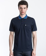 Luke 1977 Landbright Striped Collar Polo Shirt