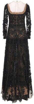 ZUHAIR MURAD Embellished Passiflora Long Dress