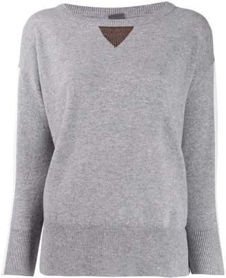 Lorena Antoniazzi fine knit long sleeve top