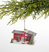 Rejuvenation Mid-Century Red House Ornament