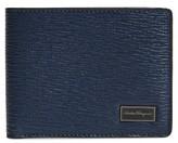 Salvatore Ferragamo Men's Revival Leather Wallet - Blue