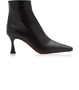 MANU Atelier Duck Leather Ankle Boots