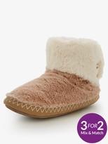 Bedroom Athletics Short Faux Fur Boot