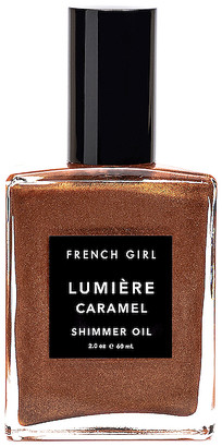 French Girl Lumiere Caramel Shimmer Body Oil