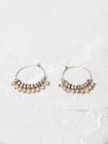 White Stuff Santorini drop hoop earring