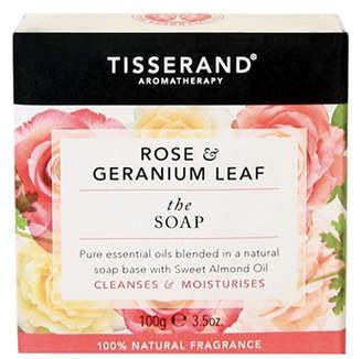 Tisserand Aromatherapy U.K. Aromatherapy Rose & Geranium Leaf The Soap 50ml
