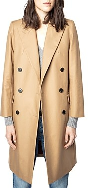 Zadig & Voltaire Medy Double Breasted Coat
