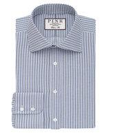 Thomas Pink Zetland Dot Classic Fit Button Cuff Shirt