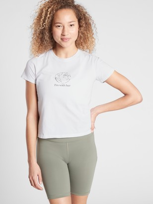 Athleta Earth Day Graphic Tee