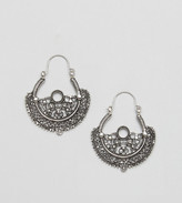 Reclaimed Vintage Inspired Boho Cutout Earrings